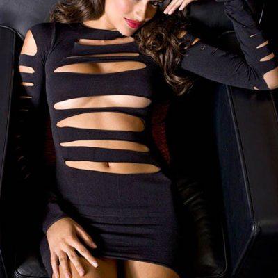 Cutout Front Dress