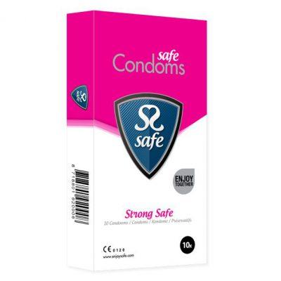 SAFE - STRONG CONDOMS 10 PCS