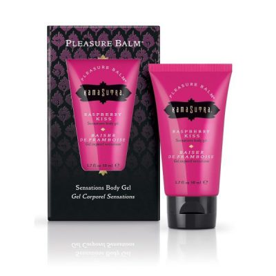 KAMASUTRA - PLEASURE BALM - RASPBERRY KISS